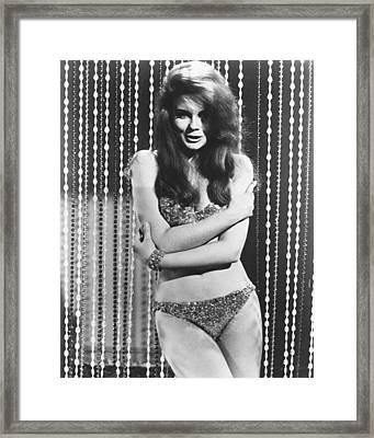 Ann-margret In The Swinger Framed Print