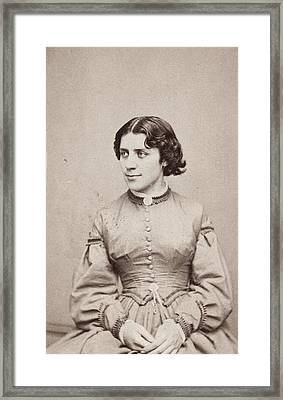 Anna Elizabeth Dickinson (1842-1932) Framed Print by Granger