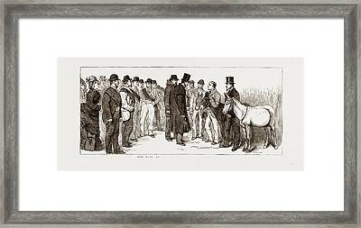 Annual Meeting Of The Golden Lane Costermongers Mission Framed Print by Litz Collection