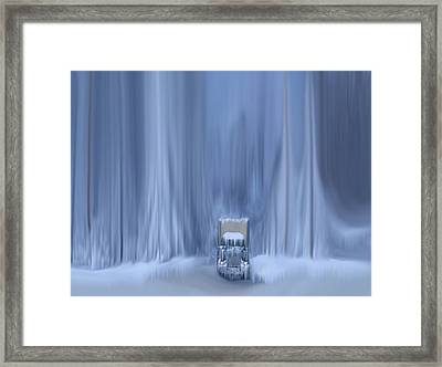 Another Storm Framed Print by Dennis Buckman