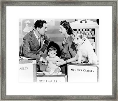 Another Thin Man  Framed Print