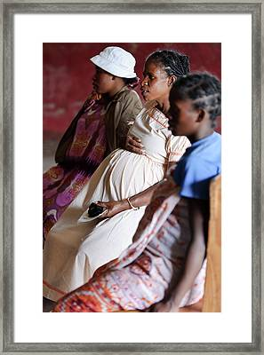 Antenatal Class Framed Print by Matthew Oldfield