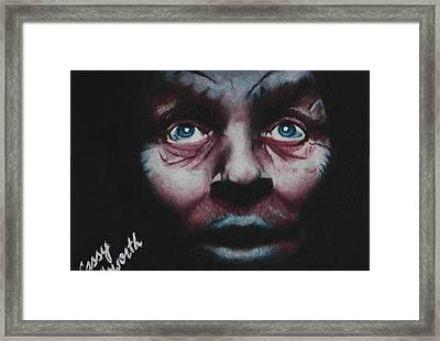 Anthony Hopkins Framed Print