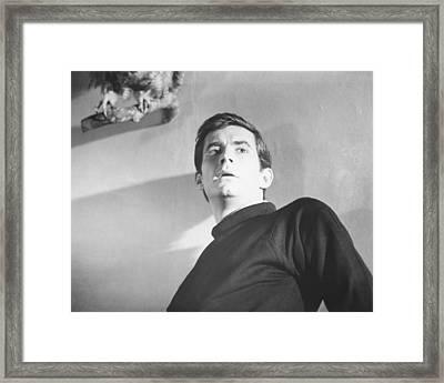 Anthony Perkins Framed Print