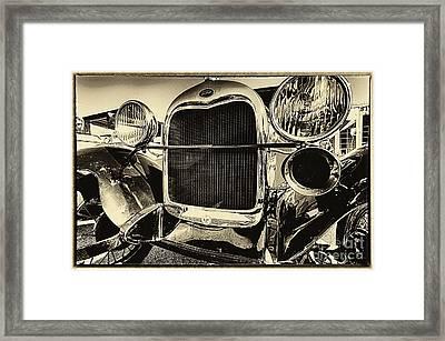 Antique Ford Car Framed Print
