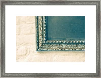 Antique Frame Framed Print