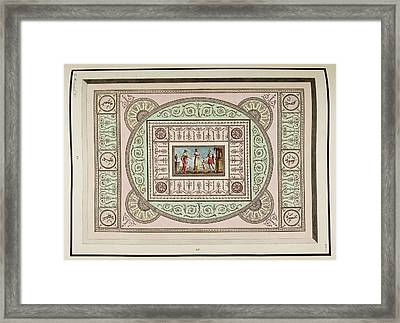 Antique Grotesque Ceilings Framed Print