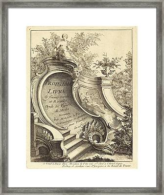 Antoine Aveline After Jean Mondon French Framed Print by Quint Lox