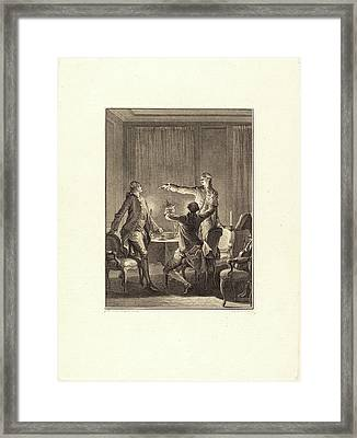 Antoine-jean Duclos After Jean-michel Moreau Framed Print