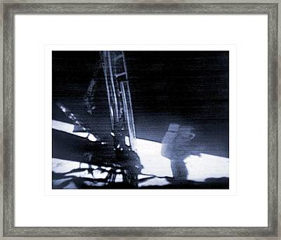 Apollo 11 Moon Landing Framed Print by Nasa/detlev Van Ravenswaay