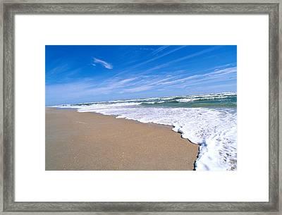 Apollo Beach Framed Print by Millard H. Sharp