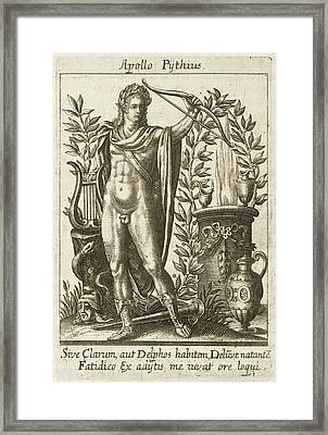 Apollo Pythias, The Greek God Framed Print by Mary Evans Picture Library
