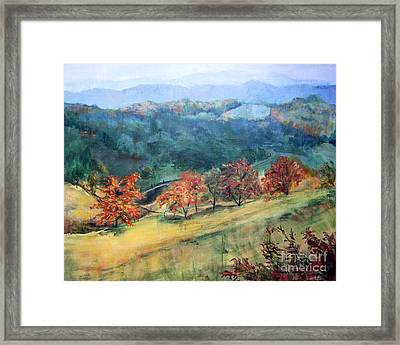 Appalachian Autumn Framed Print