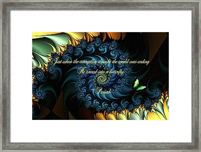 Appearance Framed Print by Lea Wiggins