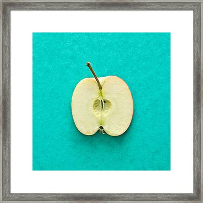 Apple Framed Print by Tom Gowanlock