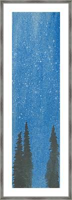 Arboribus Nix Framed Print by R Kyllo