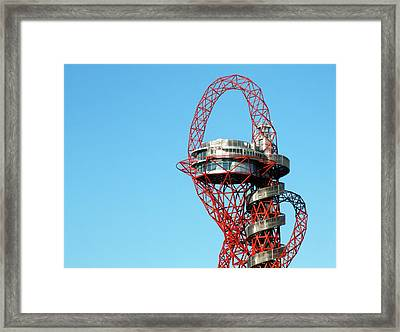 Arcelormittal Orbit Framed Print by Alex Bartel