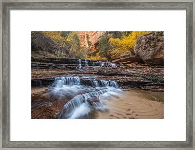 Arch Angel Falls Framed Print by Joseph Rossbach