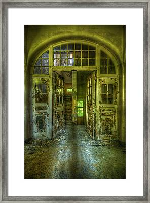 Arch Door Framed Print by Nathan Wright