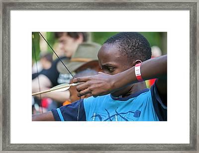 Archery Framed Print by Jim West