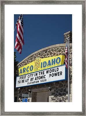 Arco Framed Print