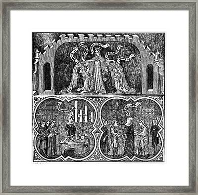Aristotle Framed Print by Universal History Archive/uig