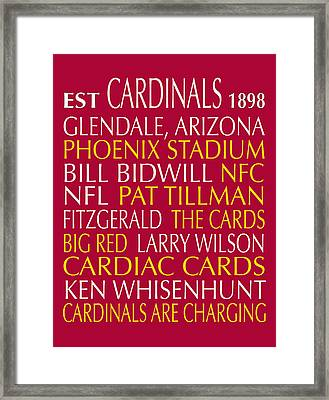 Arizona Cardinals Framed Print