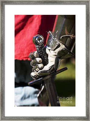 Armory At Hand Framed Print