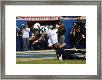 Army Versus Navy Framed Print by Mountain Dreams