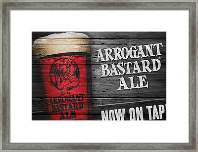 Arrogant Bastard Framed Print by Joe Hamilton