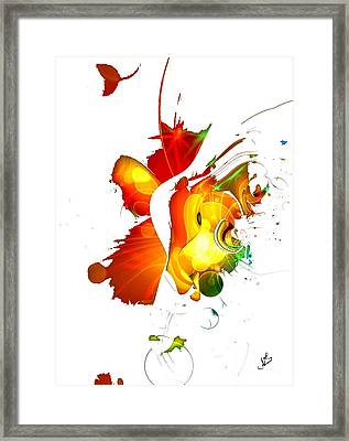 Art-abstract By Nico Bielow Framed Print