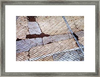 Art In The Street 1 Framed Print by Carol Leigh