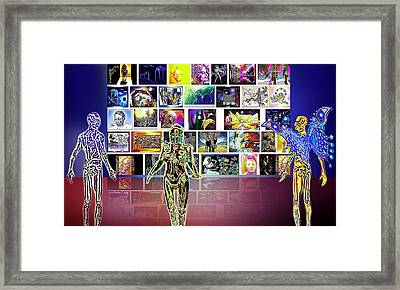Art  Panorama  Framed Print by Hartmut Jager