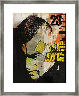 Arturo Vidal Framed Print by Corporate Art Task Force