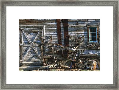 As Time Goes By Framed Print by Sandra Bronstein