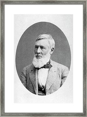 Asa Gray Framed Print by American Philosophical Society
