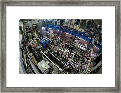 Asacusa Experiment At Cern Framed Print by Cern