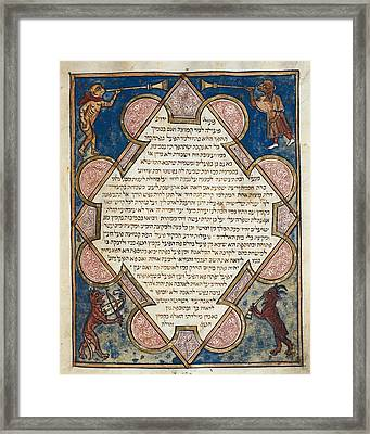 Asarfati, Josef Or Joseph Ca. 1299 Framed Print