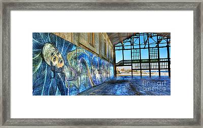 Asbury Park Casino And Carousel House Framed Print by Lee Dos Santos