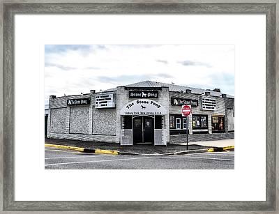 Asbury Park's Stone Pony Framed Print