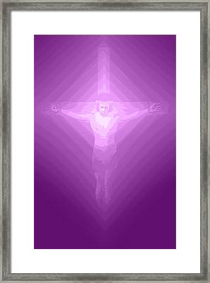 Ascension.  Framed Print