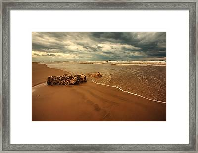 Ashdod Beach Framed Print