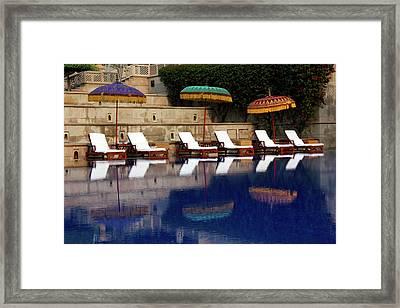 Asia, India, Agra Framed Print