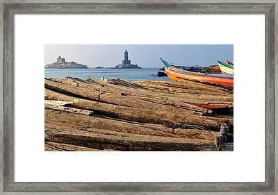 Asia, India, Tamil Nadu, Kanniyakumari Framed Print