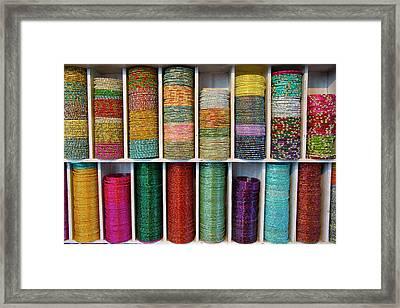 Asia, India, Uttar Pradesh Agra Framed Print by Emily Wilson