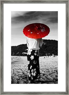 Asian Holiday Framed Print