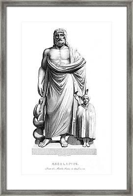 Asklepios Framed Print by Granger