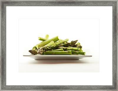 Framed Print featuring the photograph Asparagus by Cecil Fuselier