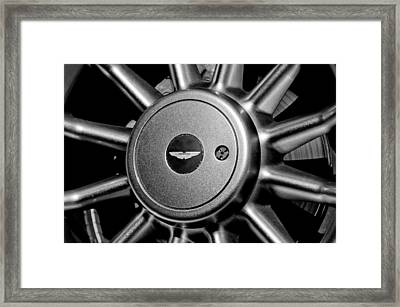 Aston Martin Db7 Wheel Emblem Framed Print