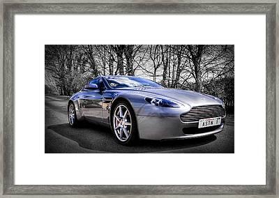Aston Martin V8 Vantage Framed Print